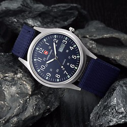 Đồng hồ dây vải Swiss Army 2 lịch AL82