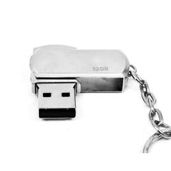 USB Inox móc khóa xoay 32Gb