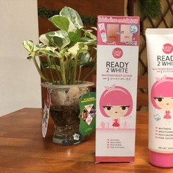 Ready 2 white body lotion - Make up dưỡng trắng