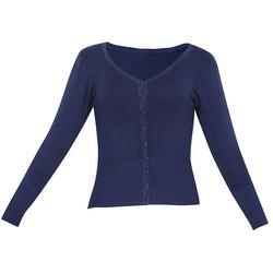 Áo khoác cardigan nữ len mỏng nhẹ cúc cổ tim ZENKO CARDIGAN NU 006 N