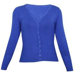 Áo khoác cardigan nữ len mỏng nhẹ cúc cổ tim ZENKO CARDIGAN NU 006 RB