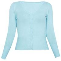 Áo khoác cardigan nữ len mỏng nhẹ cúc cổ tim ZENKO CARDIGAN NU 006 T