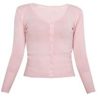 Áo khoác cardigan nữ len mỏng nhẹ cúc cổ tim ZENKO CARDIGAN NU 006 CO