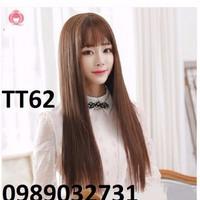 Tóc giả Hàn Quốc thẳng dài TT62
