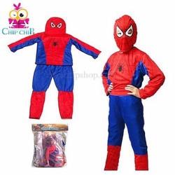Bộ đồ Spiderman trẻ em
