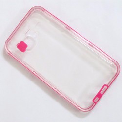 Ốp lưng viền màu hồng Samsung-Galaxy J7 sành điệu