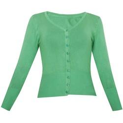 Áo khoác cardigan nữ len mỏng nhẹ cúc cổ tim ZENKO CARDIGAN NU 006 GR