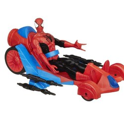 Mô hình lắp ráp Marvel SpiderMan with Turbo Racer