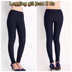 Legging giả jean 2 da-GS70