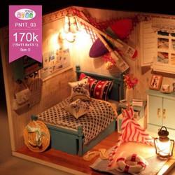 Mô hình nhà búp bê cực xinh yêu - đồng giá 170k