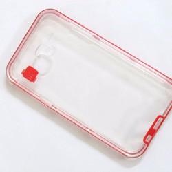 Ốp lưng viền màu đỏ Samsung Galaxy J7 sành điệu