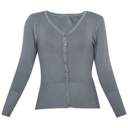 Áo khoác cardigan nữ len mỏng nhẹ cúc cổ tim ZENKO CARDIGAN NU 006 CHA