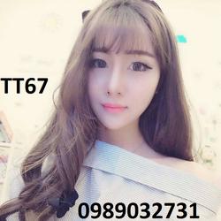 Tóc giả Hàn Quốc cực chất - TT67