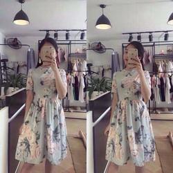 Đầm babydoll hoa