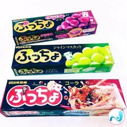 Combo 2 thanh Kẹo mềm trái cây UHA - hàng xách tay Nhật Bản