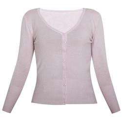 Áo khoác cardigan nữ len mỏng nhẹ cúc cổ tim ZENKO CARDIGAN NU 006 BP