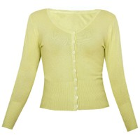 Áo khoác cardigan nữ len mỏng nhẹ cúc cổ tim CARDIGAN NU 006 LTGR
