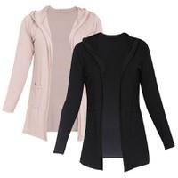 Bộ 2 áo khoác mỏng nhẹ cardigan nữ có cổ 2WM CARDIGAN 007 NU B
