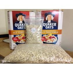 Yến mạch nguyên hạt  Quaker Oats Old Fashioned tự nhiên