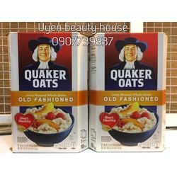 Bột Yến Mạch Quaker Oats Nhập Khẩu Mỹ thùng 4.5 kg