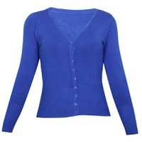 Áo khoác cardigan nữ len mỏng nhẹ cúc cổ tim CARDIGAN NU 006 RB