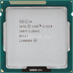 CPU Intel Core I3 3210 Tray không Fan Socket 1155