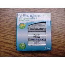 Pin sạc AA Mỹ Westinghouse 1 vỉ 4 viên