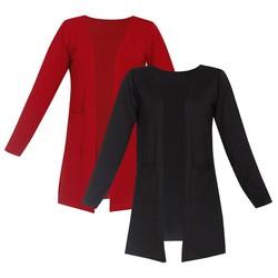 Bộ 2 áo khoác mỏng nhẹ cardigan nữ ZENKO 2CARDIGAN NU 008 B DR