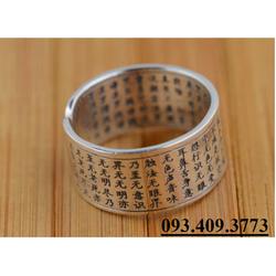 Nhẫn Khắc Bát Nhã Tâm Kinh Phật Giáo - NH149