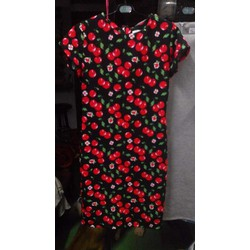 Đầm suông cherry Thái Lan