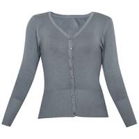 Áo khoác cardigan nữ len mỏng nhẹ cúc cổ tim CARDIGAN NU 006 CHA