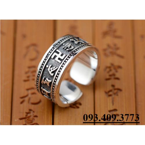Nhẫn Khắc Thần Chú Om Mani Padme Hum Tây Tạng -NH153 - 4073511 , 4144268 , 15_4144268 , 750000 , Nhan-Khac-Than-Chu-Om-Mani-Padme-Hum-Tay-Tang-NH153-15_4144268 , sendo.vn , Nhẫn Khắc Thần Chú Om Mani Padme Hum Tây Tạng -NH153
