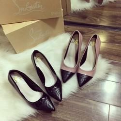 Giày cao gót Chanel sang chảnh
