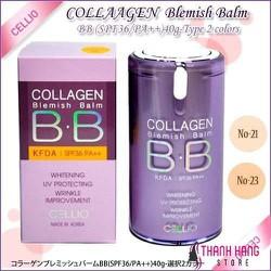 Kem nền BB Cellio Collagen