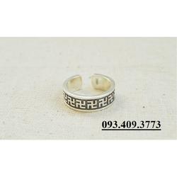 Nhẫn Khắc Chữ VẠN Phật Giáo - NH152