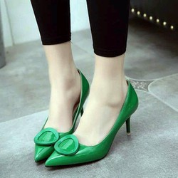 Giày cao gót nữ A45 duyên dáng