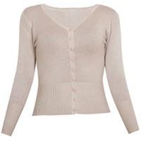 Áo khoác cardigan nữ len mỏng nhẹ cúc cổ tim CARDIGAN NU 006 LTBR