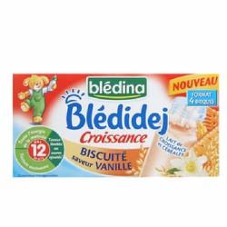 Sữa nước Bledina bích qui-vani 250mlx4 hộp 12m
