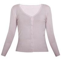 Áo khoác cardigan nữ len mỏng nhẹ cúc cổ tim CARDIGAN NU 006 BP