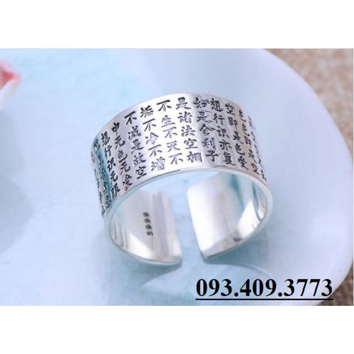 Nhẫn Khắc bát Nhã Tâm Kinh Phật Giáo - NH143
