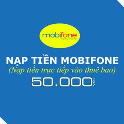Nạp tiền Mobifone 50.000đ