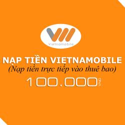 Nạp tiền Vietnamobile 100.000đ
