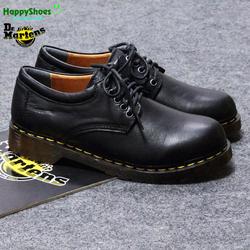 Giày Dr Martens 8053 Đen Trơn Dà Bò Thật