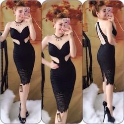 Đầm body ren hot