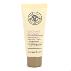 CLEAN FACE OIL CONTROL BB CREAM THE FACE SHOP