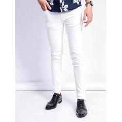 quần jean nam trắng đẹp