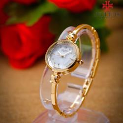 Đồng Hồ Cao Cấp nữ dây kim loại JULIUS JU1084 vàng sang trọng