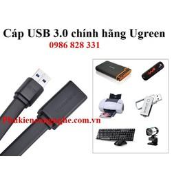 Cáp USB 3.0 nối dài 2m chính hãng Ugreen UG-10808