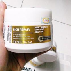 Hấp Goldwell 60s Rich Repair 200ml chuyên chữa trị tóc hư tổn
