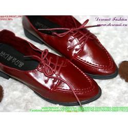 Giảm giá giày oxford da đơn giản sành điệu GUBB167